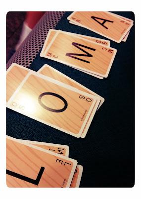 Slam cartas juego de mesa de palabras