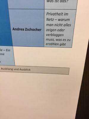 Andrea Zschocher über Privatheit im Netz