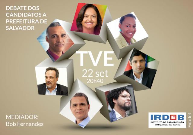 Candidatos a Prefeitura de Salvador participam de debate na TVE e Rádio Educadora