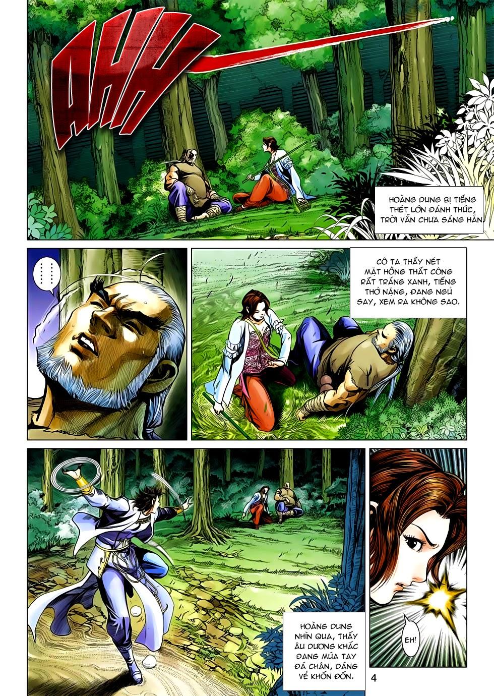 Anh Hùng Xạ Điêu anh hùng xạ đêu chap 54: kiếp hậu dư sinh thiến nữ kỳ mưu trang 4