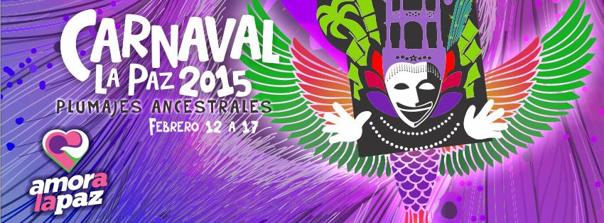 programa Carnaval La Paz 2015