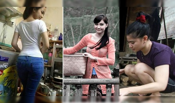9 FOTO: Inilah Kg Cinta Di Jawa Barat, Gadisnya Cantik² & Kos Nikah Pun Murah Je, Kalau Bosan....