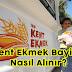 İzmir Kent Ekmek Bayilik Başvurusu