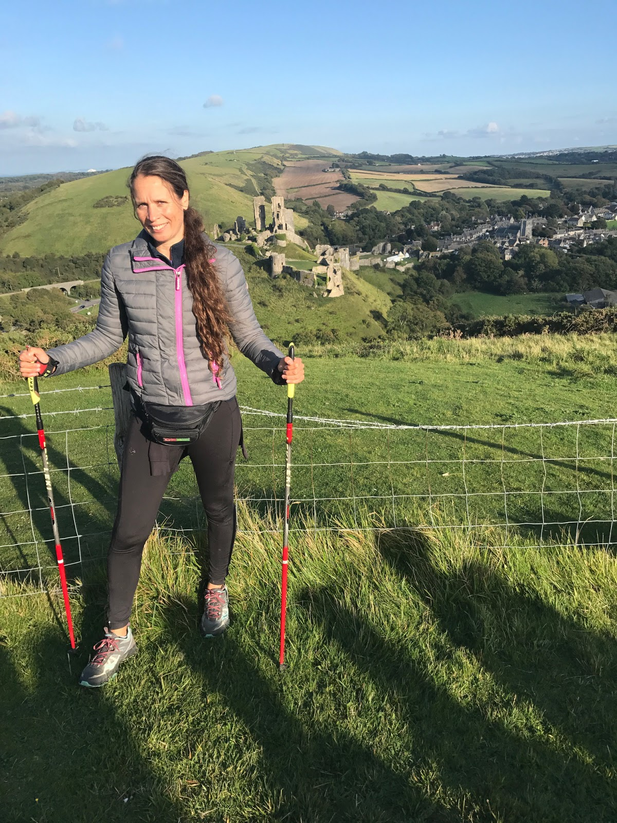 A Nordic Walker for eight years, Nikkii Barnett has noticed huge improvements in her fitness and attitude