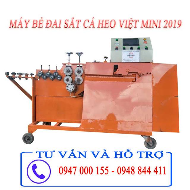 Máy Bẻ Đai sắt Cá Heo Việt Giá Rẻ Chất Lượng