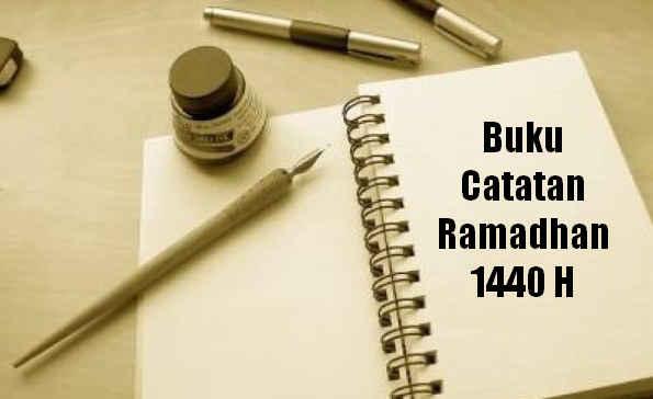 Buku Catatan Ramadhan 1440 H