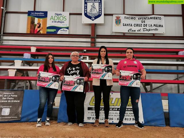 Santa Cruz de La Palma acoge este domingo 26 de enero la segunda jornada de lucha canaria femenina entre el CL Tenercina y el CL Maxorata