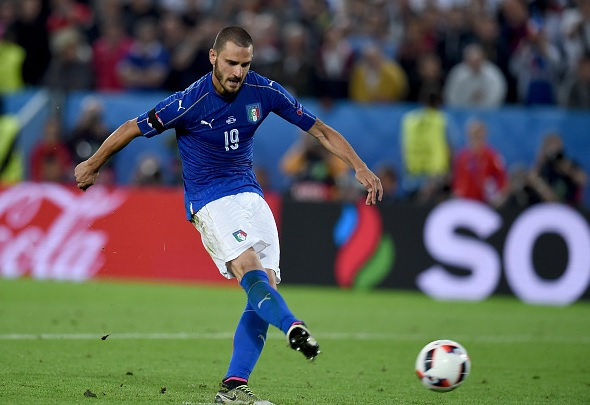 Manchester City £38m bid rejected for Leonardo Bonucci