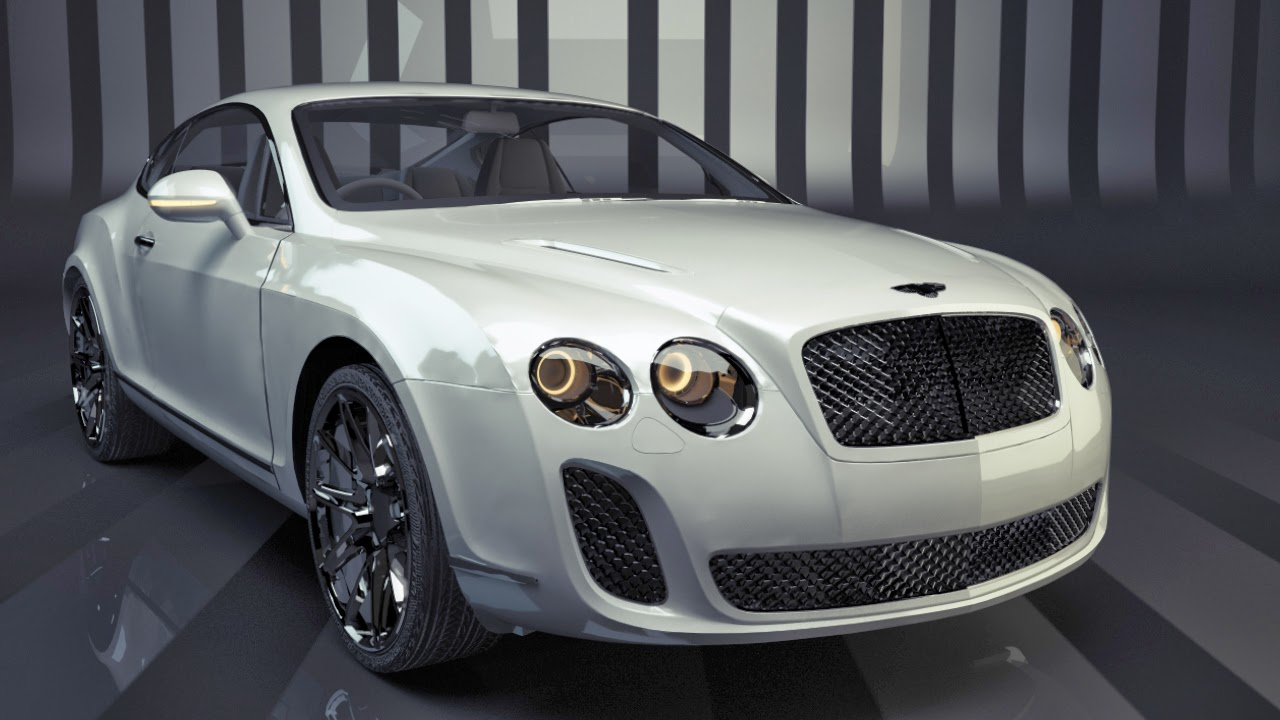 Free Cinema 4d Bentley Model And Vray Scene By