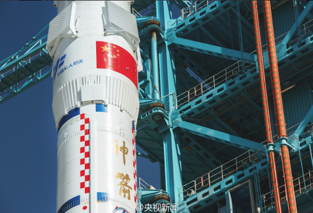 China Launched the First Crewed Mission to the Tiangong 2 Space Station