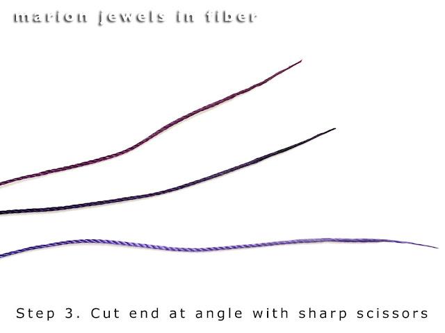 Self Needles with Beeswax Method