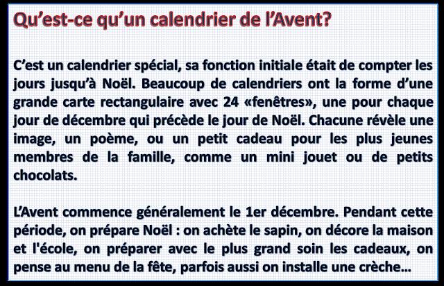 Kalendarz - adwentowy - Co to jest kalendarz adwentowy? - Francuski przy kawie