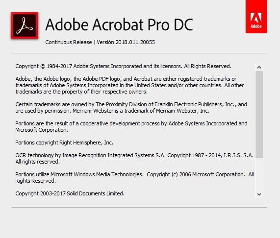 Adobe Acrobat Pro DC v2018.011.2 Full Español (Convierte PDF)