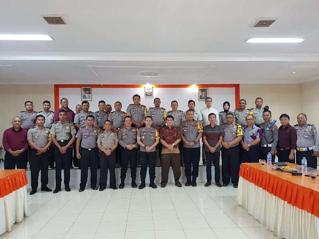 Dede Farhan Aulawi Gelar Kunjungan Kerja ke Polda Gorontalo