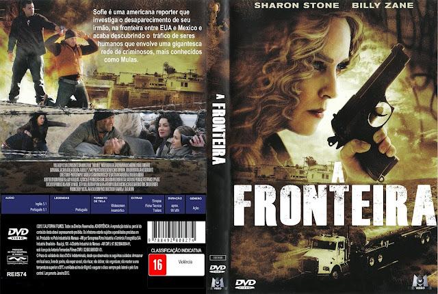 Capa DVD A Fronteira