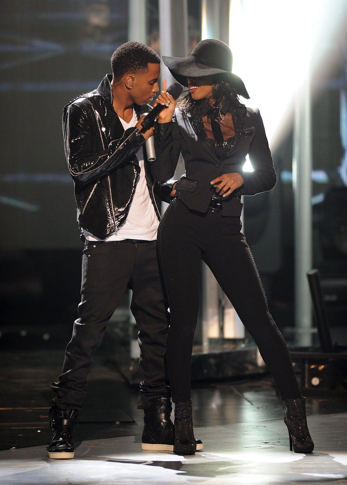 WE MAKE MUSIC SHOW: Kelly Rowland & Trey Songz Enjoying ...