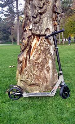 скутер тротинетка за възрастни от декатлон