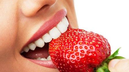 strawberry sebagai pemutih gigi