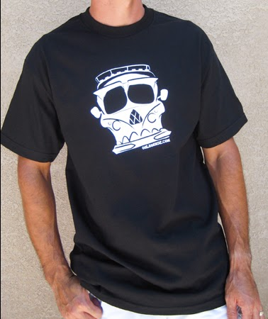 VW Bus Skull T-Shirt
