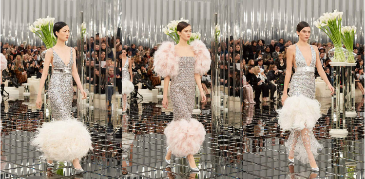 chanel-spring-summer-2017-couture-collection (61)-silver-metallic-gown-fur-details-silver-tube-gown-fur-sleeved-silver-sequin-dress-sheer-detailed-end