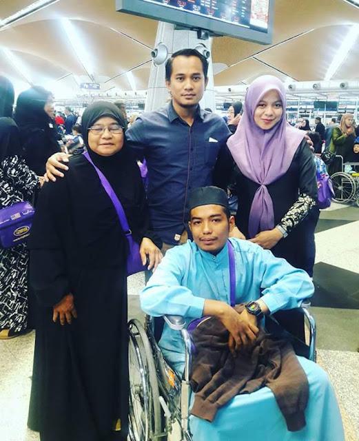 Cacatan Akhir Adam Ramadhan, Pesakit Kanser Tahap 4 Yang Meninggal Dunia Di Mekah