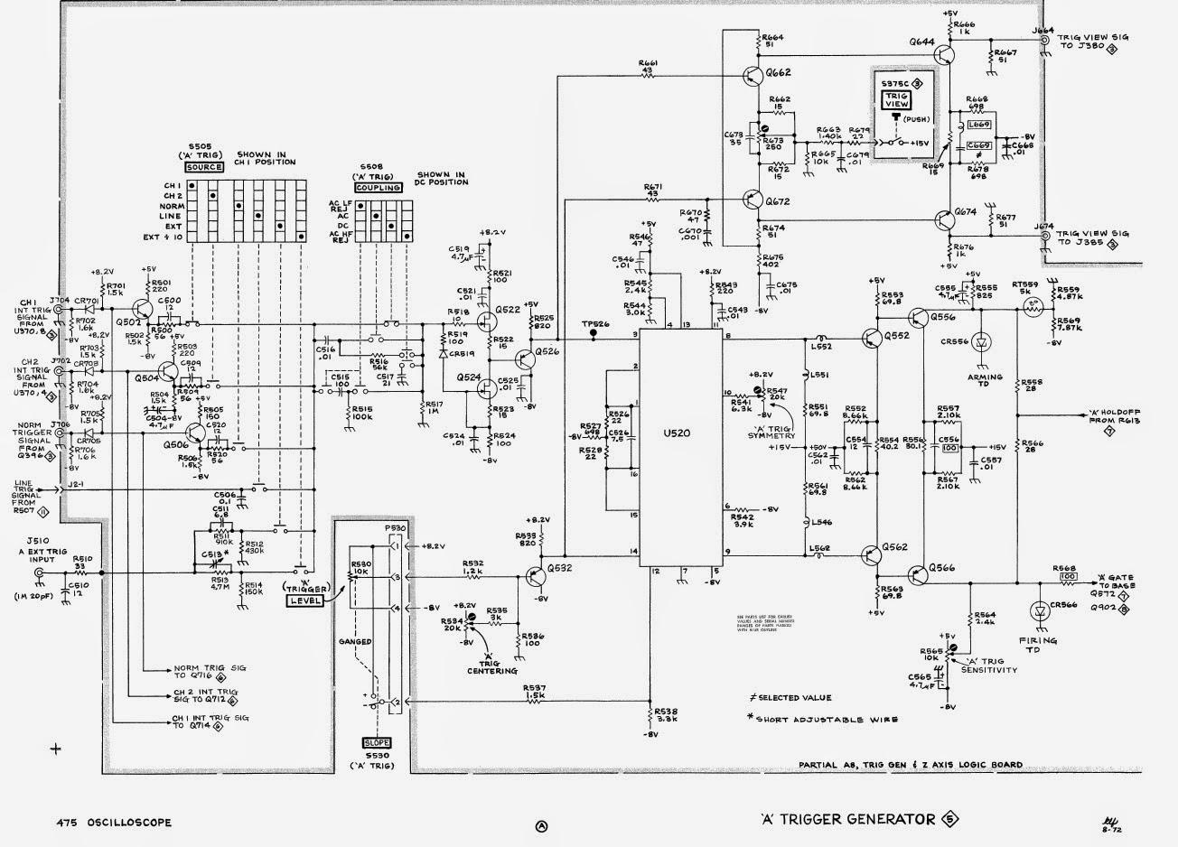 Tektronix 2336 Ya service manual