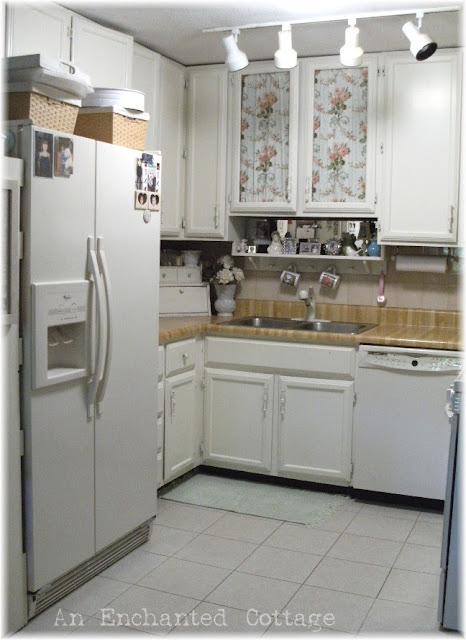 windowless kitchen sink an enchanted cottage the windowless kitchen 1108