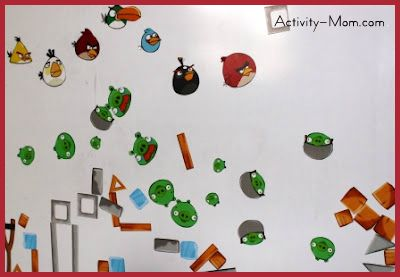 graphic about Angry Birds Printable named The Game Mother - Indignant Birds Magnets (printable) - The