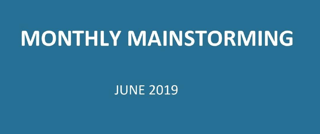 UPSC Mainstorming - June 2019