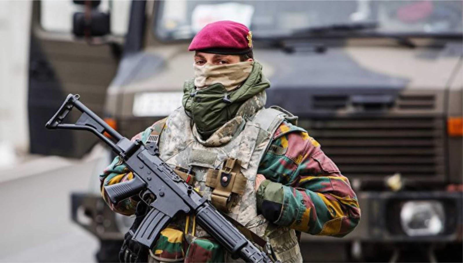 Kementerian Pertahanan Belgia menciptakan pasukan khusus wanita