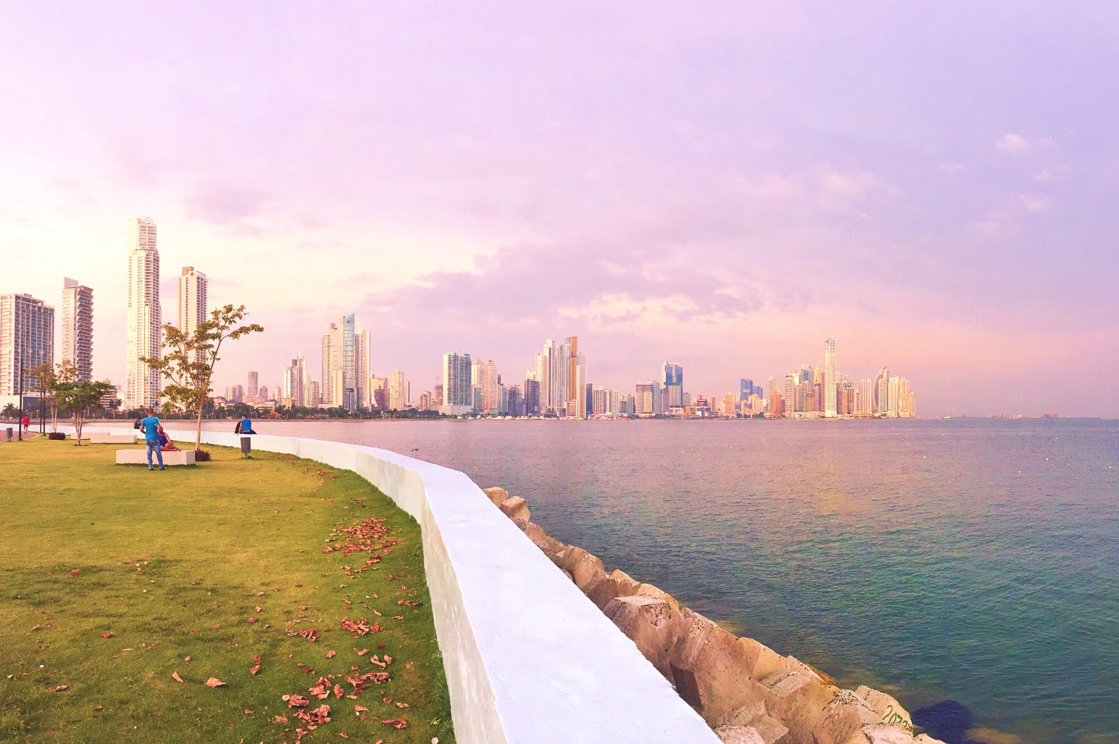 Skyline of Panama City, Panama