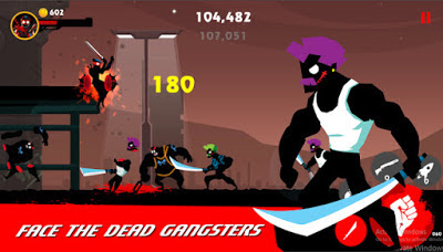 Screenshoot Game terbaru Dead Slash Gangster City v1.0 Mod Apk