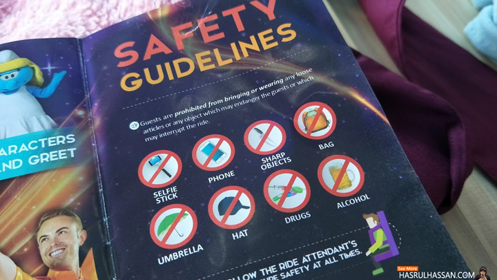 Safety Guidelines in Maps Perak