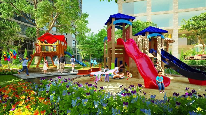 Khu vui chơi trẻ em Hoi An Green Village