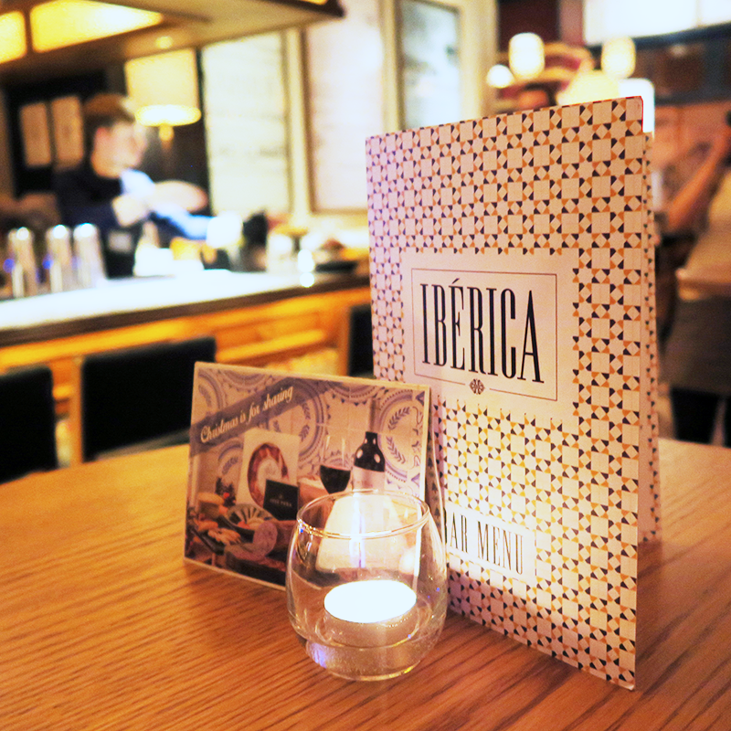Iberica Glasgow Spanish Tapas Review | Colours and Carousels - Scottish Lifestyle, Beauty and Fashion blog