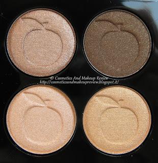 IDUN Minerals - Brunkulla eyeshadow palette - cialde