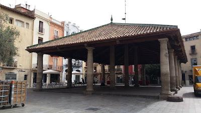 Plaça Major de Granollers
