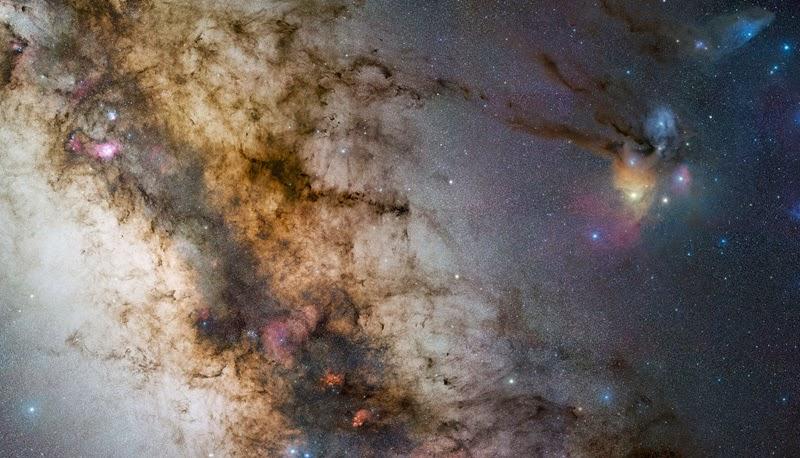 Fotografia della Via Lattea, di S. Guisard - ESO