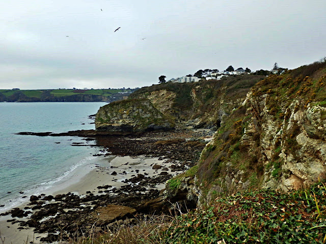 Carlyon Bay, Cornwall on a dull day