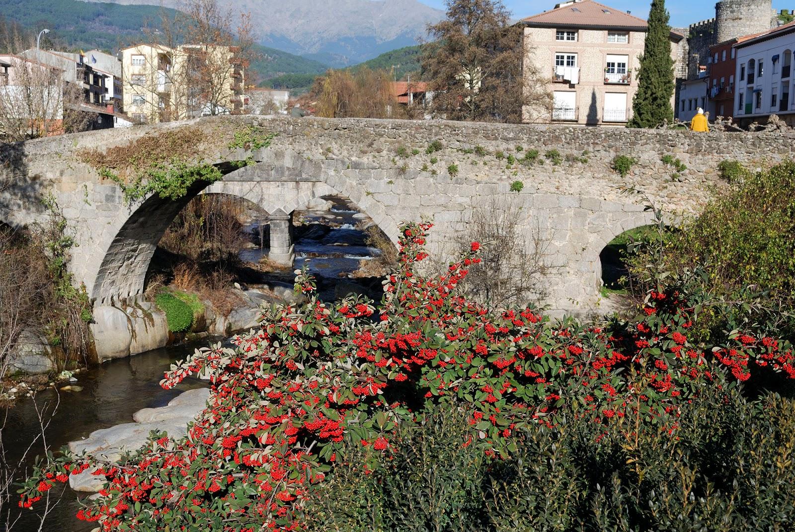 arenas san pedro bridge puente medieval avila valle tietar sierra gredos