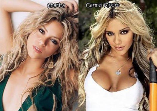 Estrelas porn que são sósias de celebridades