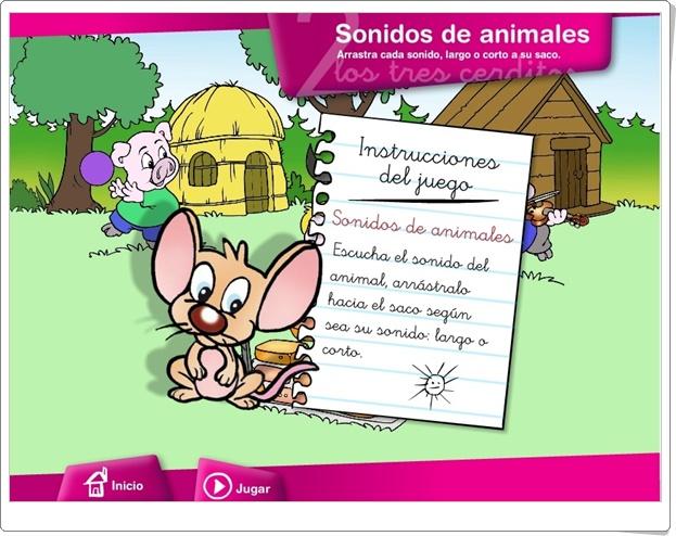SONIDOS DE ANIMALES (Juego de Música de Primaria)
