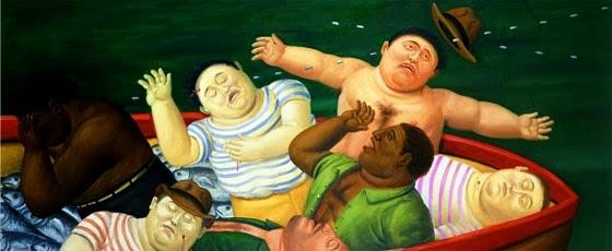 Fernando Botero: Masacre de Ciénaga Grande (Serie 'El dolor de Colombia')