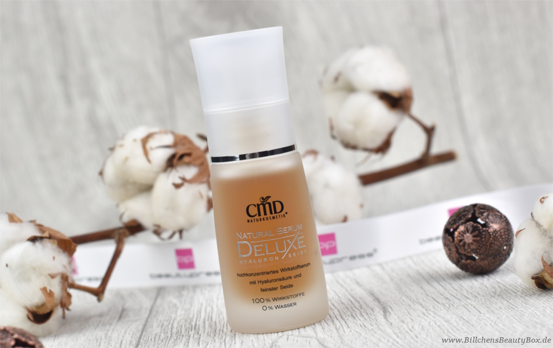 beautypress News Box Dezember 2017 - CMD Naturkosmetik Natural Serum Deluxe
