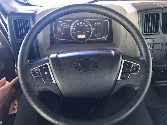 Volang xe ben IZ65s Đô thành tích hợp nhiều công nghệ hiện đại nhất hiện nay