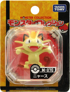 Meowth figure Takara Tomy Monster Collection M series