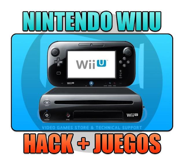 PROGRAMACION DE NINTENDO WIIU + PAQUETE DE JUEGOS