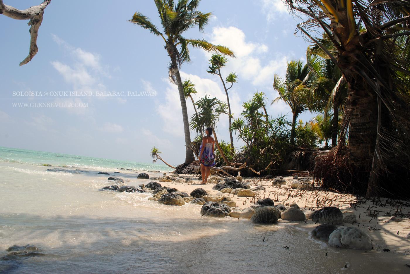 Onok Onuk Island; Balabac; Palawan; Soloista