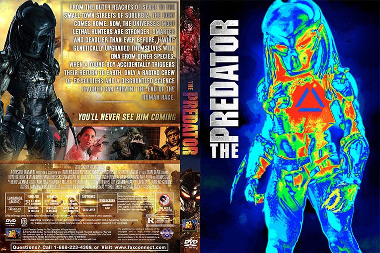 The Predator (2018) 720p BrRip [Dual Audio] [Hindi 5.1+English]