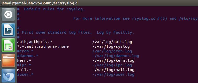 cron tutorial 2 logging